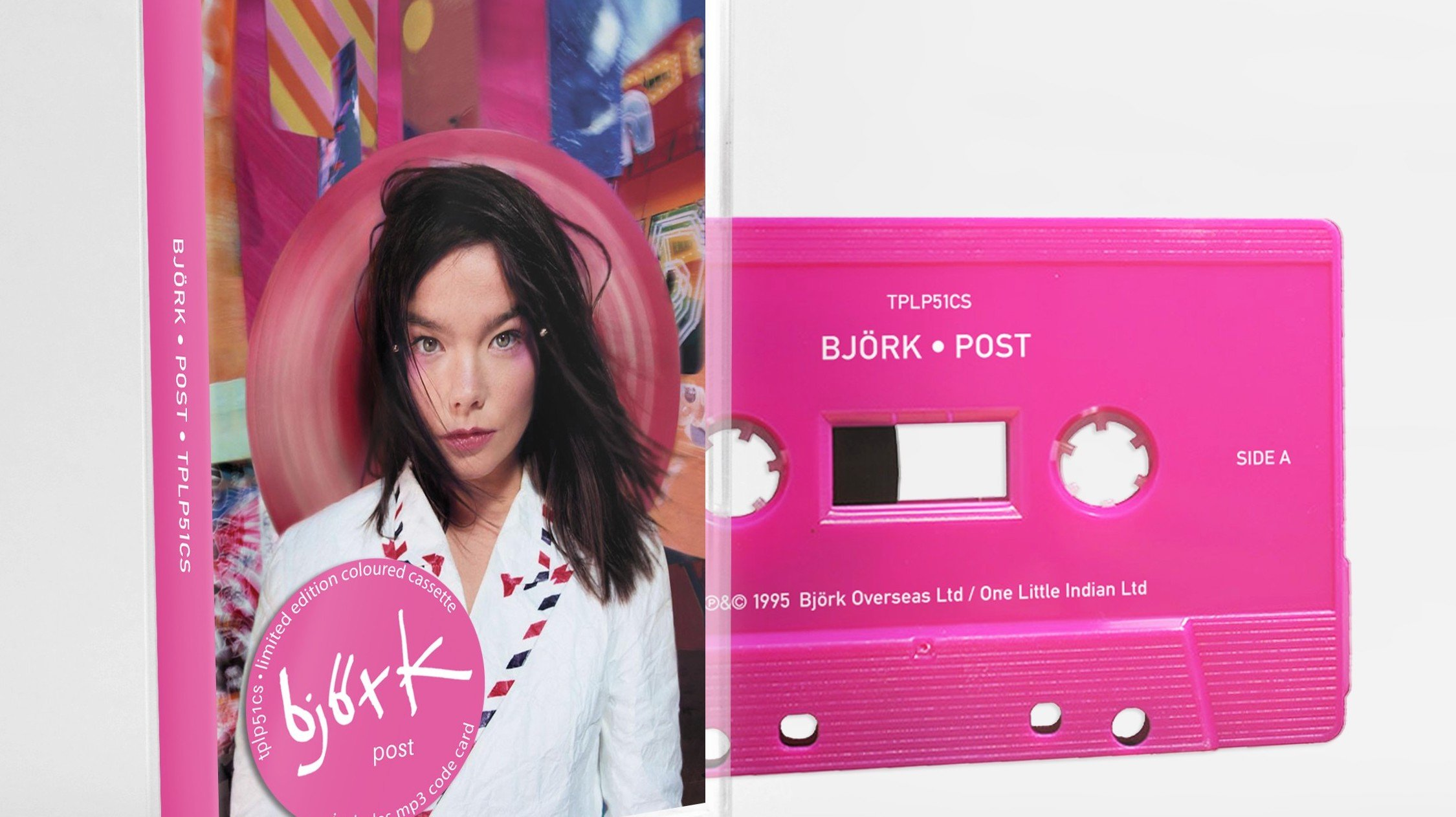 Björk apuesta por lo retro y relanza sus álbumes en cassettes