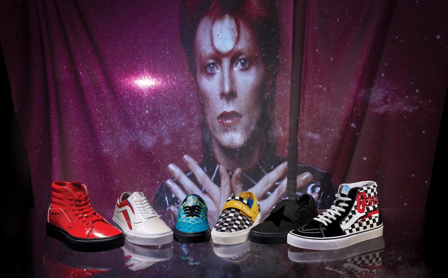 La nueva colección de los tenis Vans de David Bowie llega a México