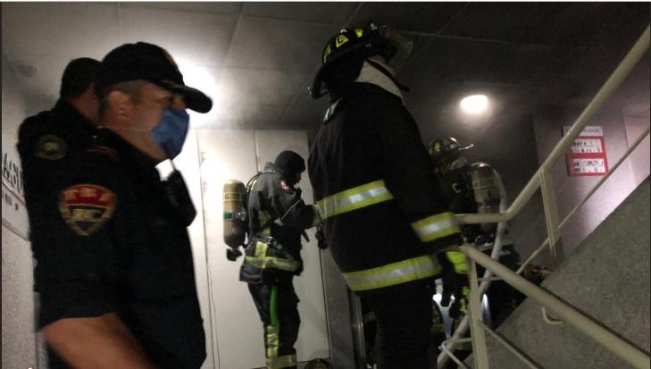 Inician investigaciones periciales por incendio en instalaciones de Conagua