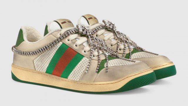 Cuánto cuestan los sneakers 'sucios' con cristales de Gucci
