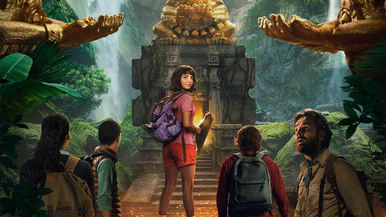 Revelan el primer póster de la película de 'Dora, la exploradora'