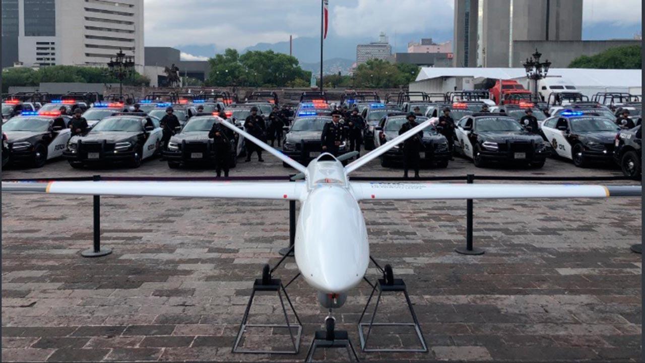 'El Bronco' presume un nuevo dron de 54 mdp para combatir el crimen