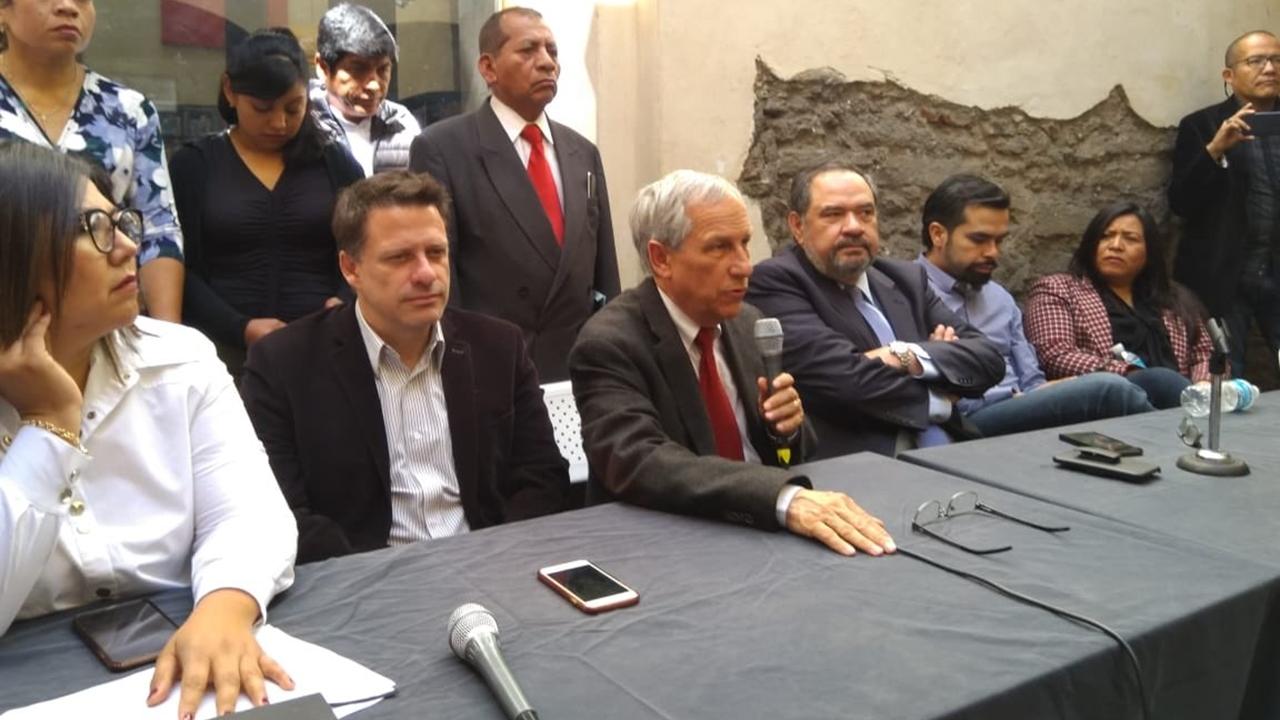 PAN, PRD y MC respaldan a Enrique Cárdenas para gubernatura de Puebla