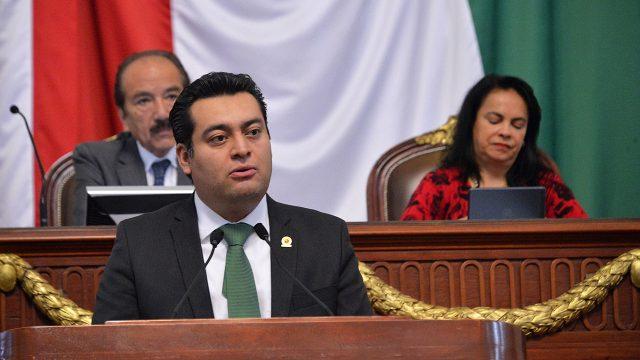 Diputado Diego Orlando Garrido López.