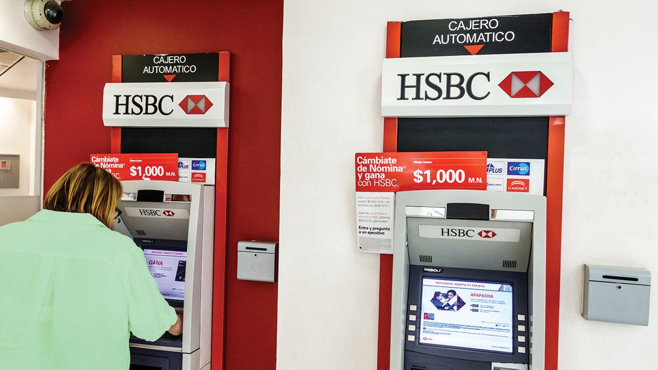 Clientes reportan caída de sistema de HSBC