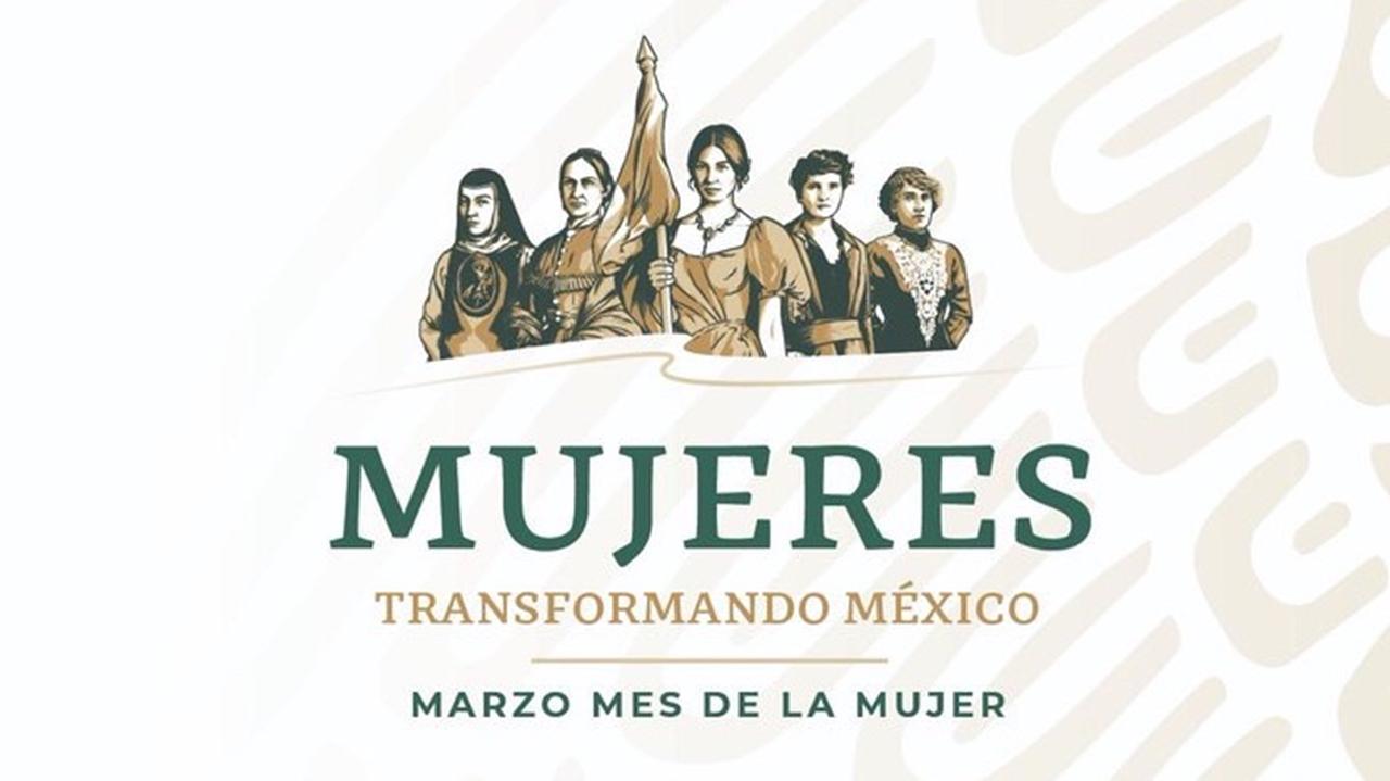 Por el Día de la Mujer, Segob destaca a heroínas mexicanas en logotipo