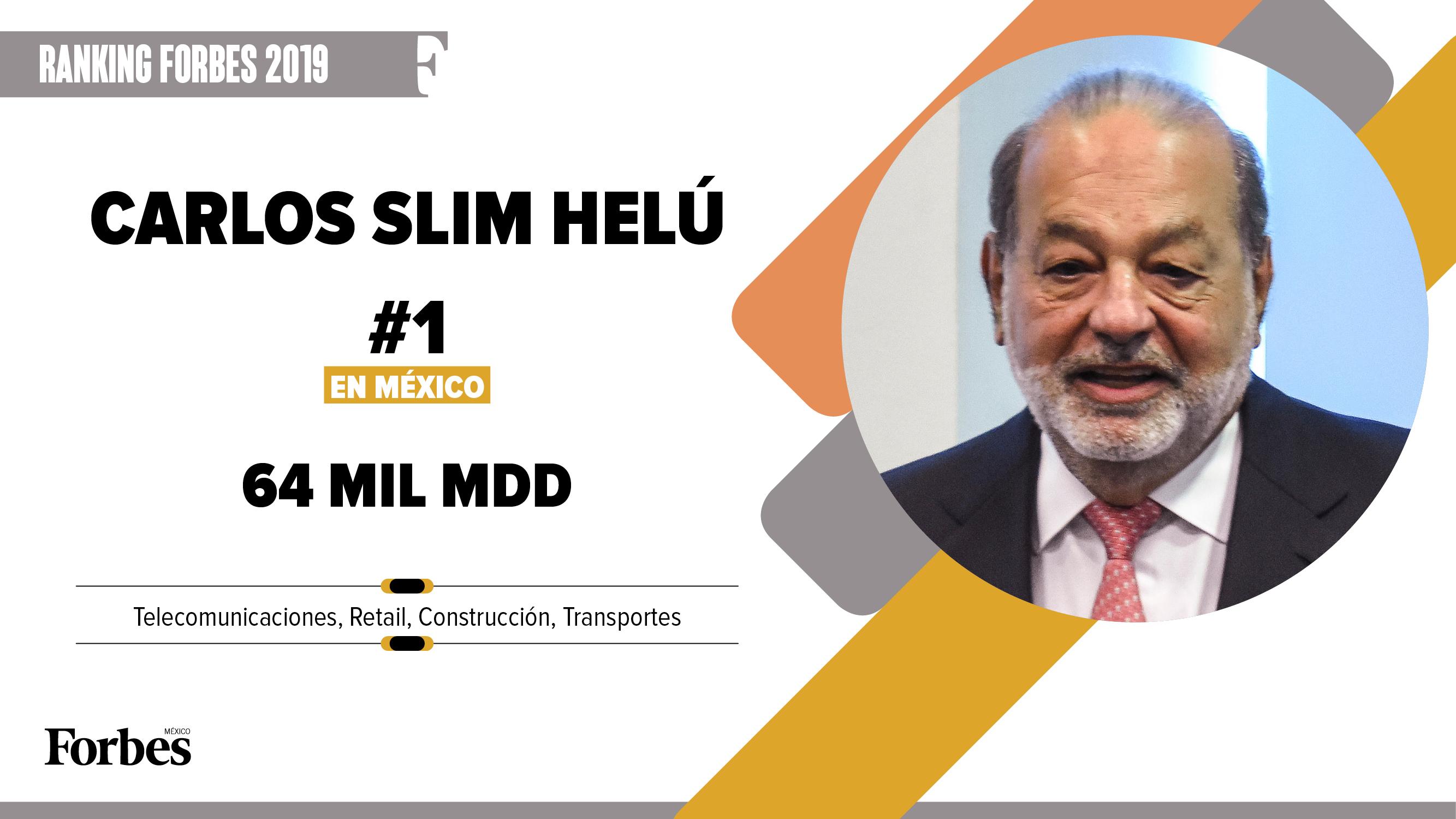 Billionaires 2019 | El eterno Carlos Slim Helú, el quinto más rico del mundo