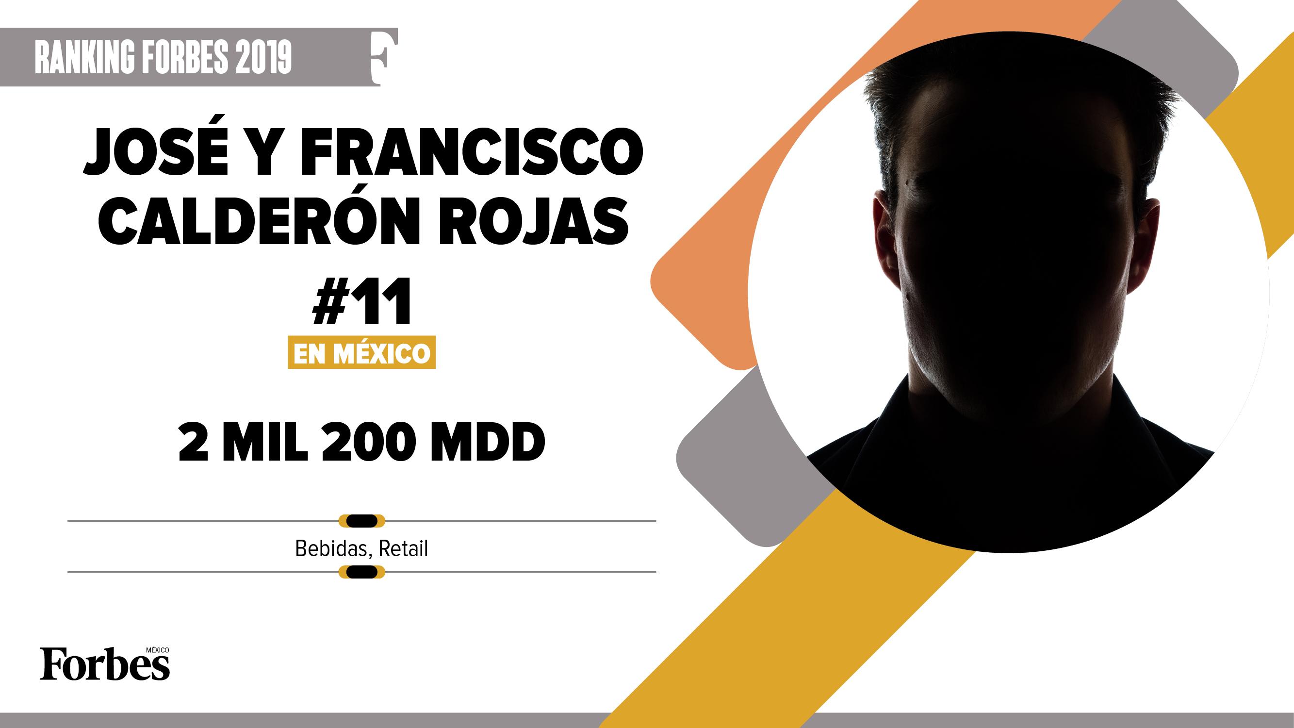 Billionaires 2019 | José y Francisco Calderón Rojas, el poder del consumidor