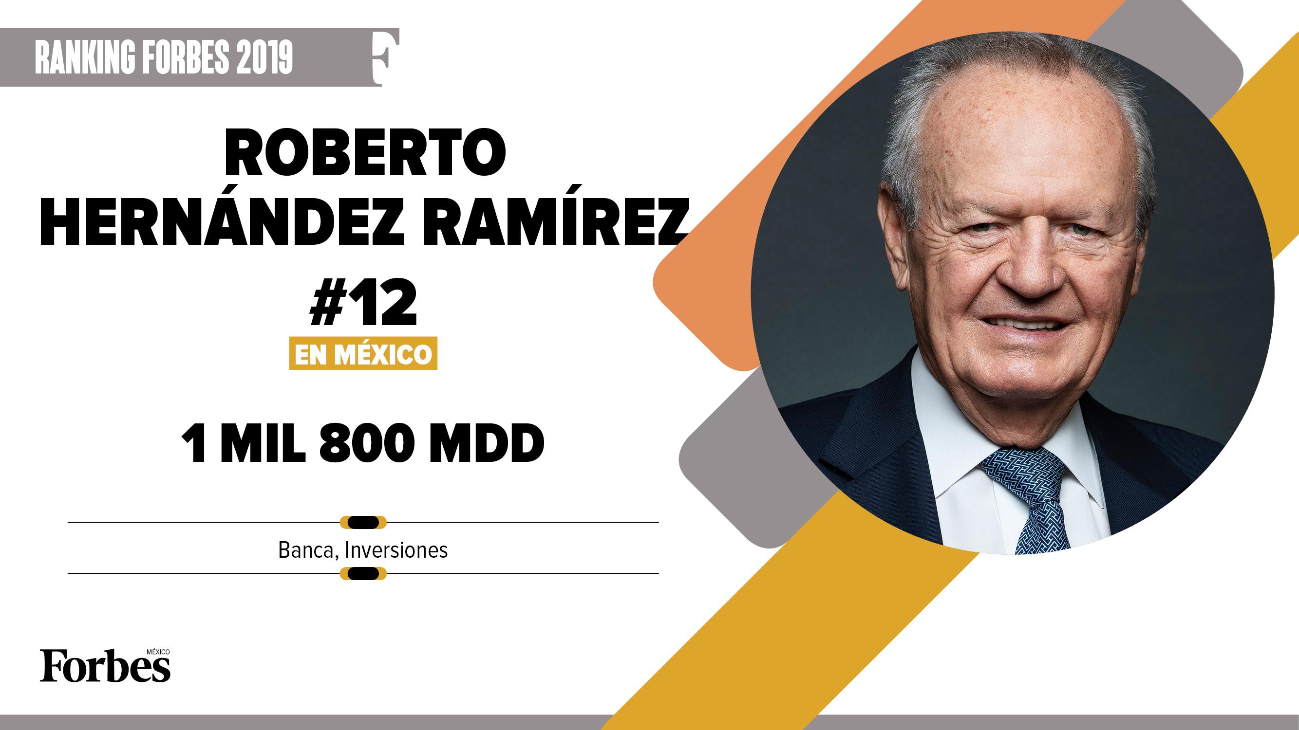 Billionaires 2019 | Roberto Hernández Ramírez, al bat