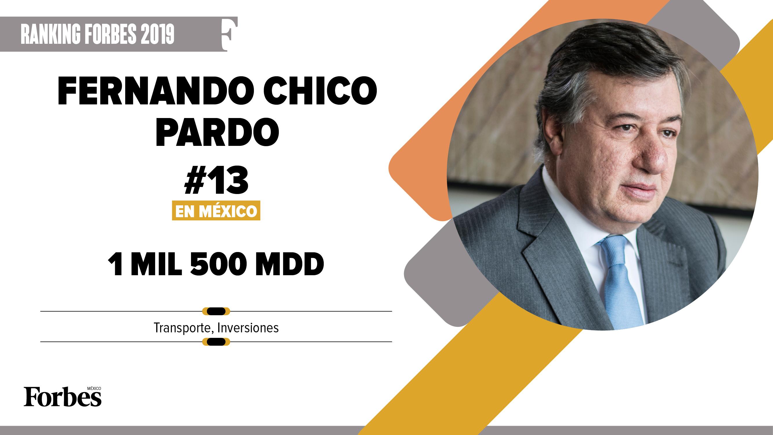 Billionaires 2019 | Fernando Chico Pardo, vía directa a los más ricos