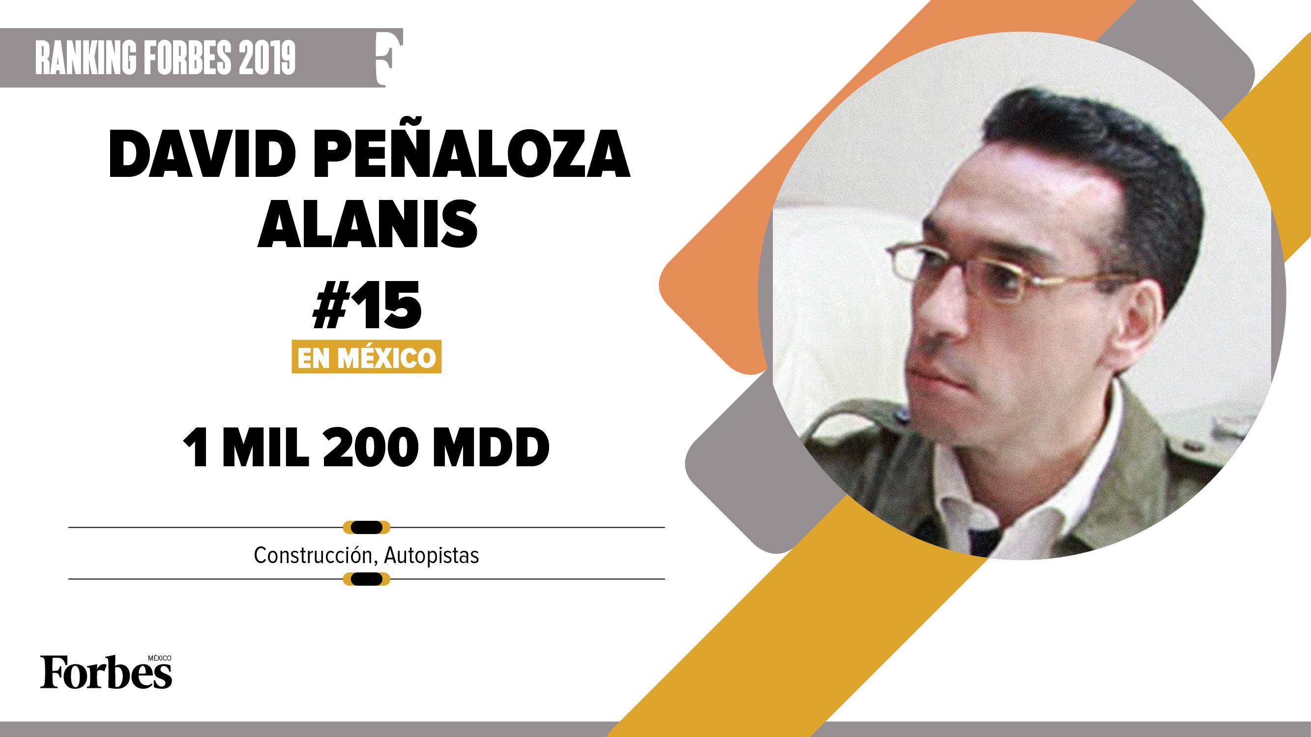 Billionaires 2019 | David Peñaloza Alanís, el valor de las concesiones