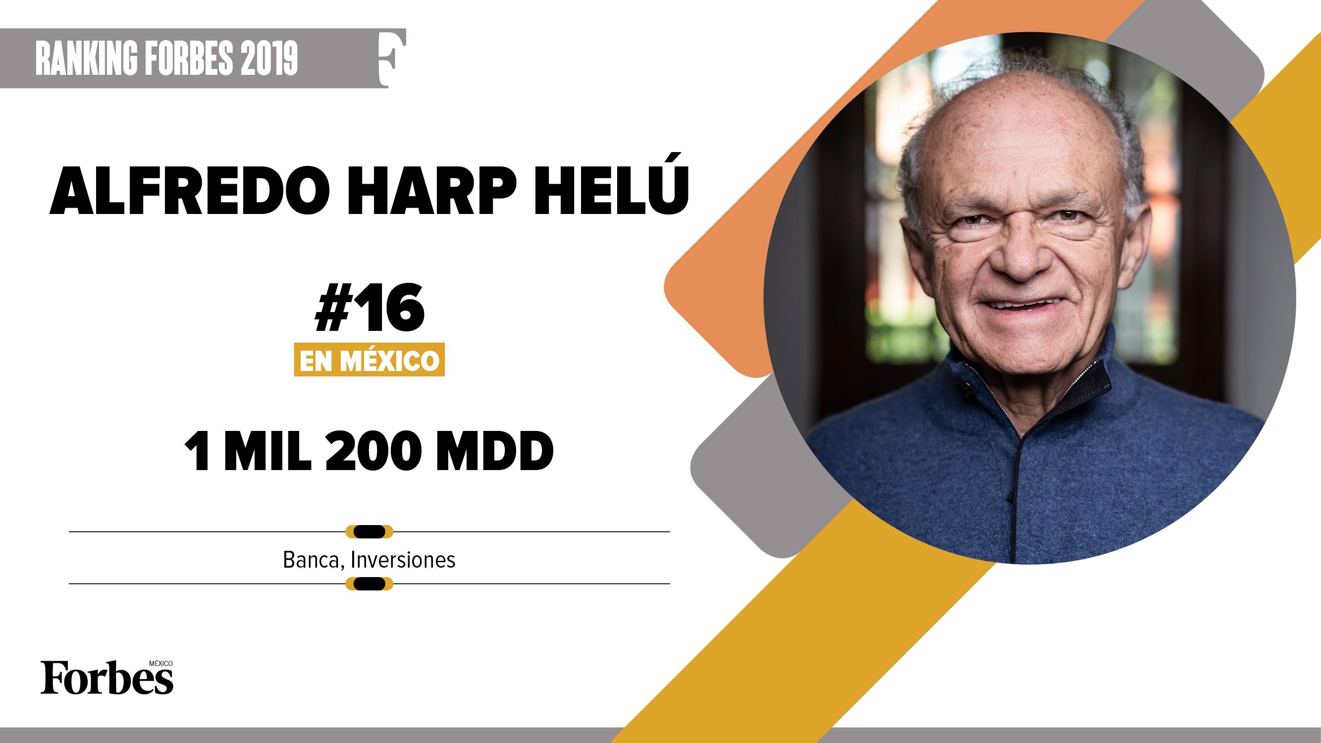 Billionaires 2019 | Alfredo Harp Helú sigue con promedio ganador