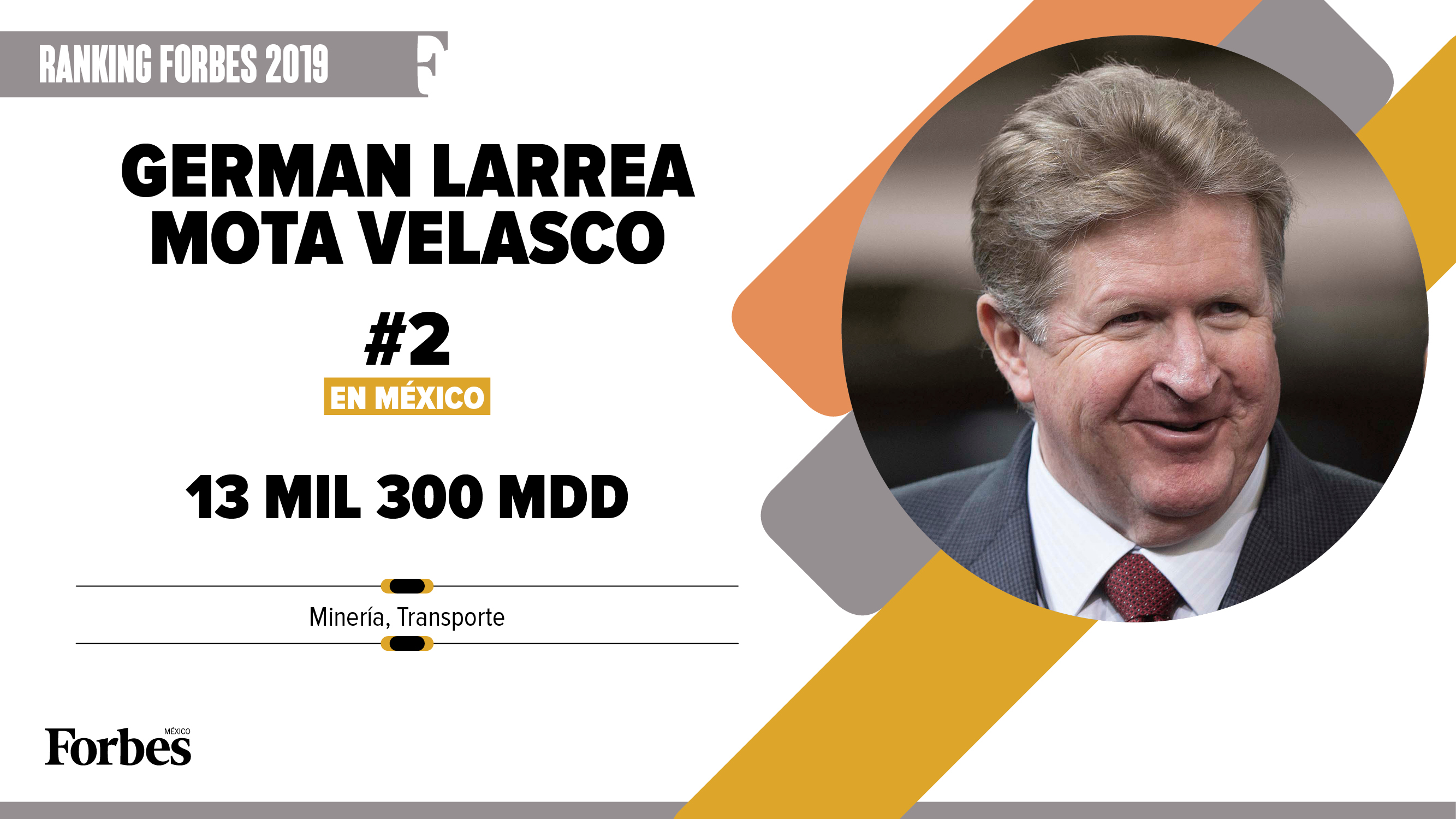 Billionaires 2019 | Germán Larrea, se mantiene a pesar de pérdidas