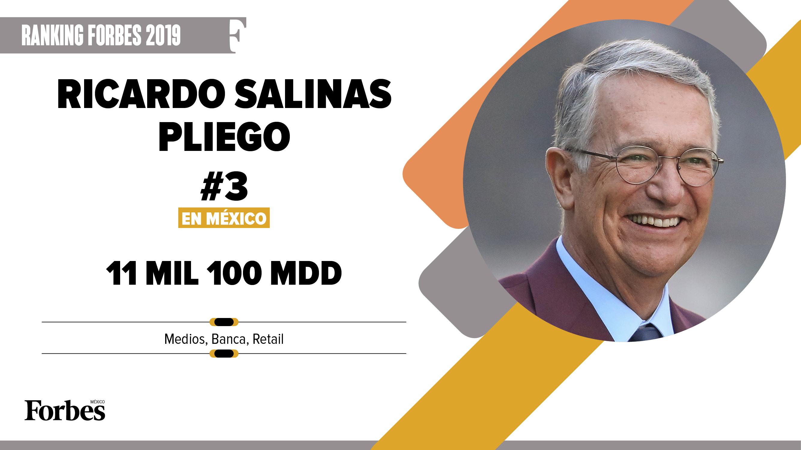 Billionaires 2019 | Ricardo Salinas, de nuevo el gran ganador