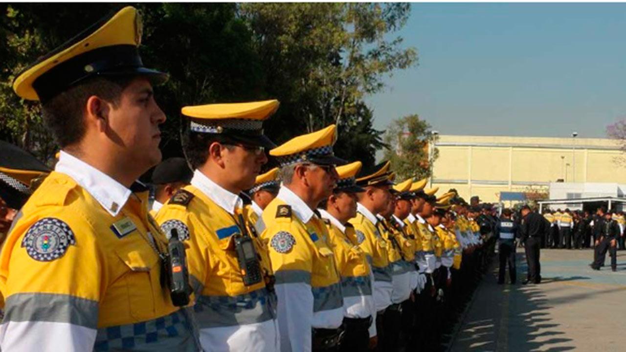 En CDMX, sólo 1,500 policías están autorizados para infraccionar