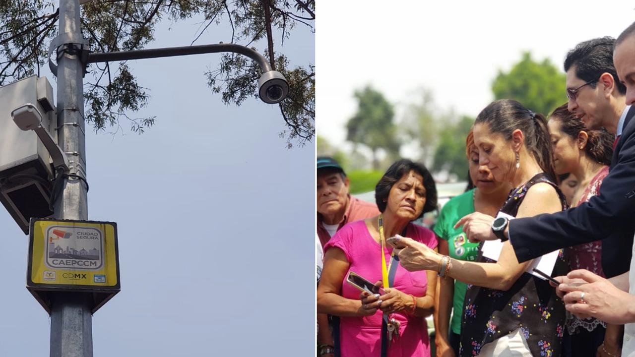 Slim dota de wifi gratis a postes con cámaras de seguridad de CDMX