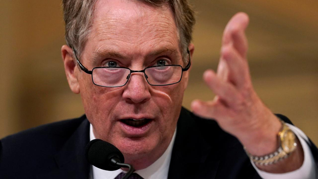 Robert Lighthizer. Foto Reuters.
