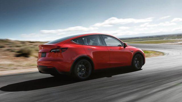 Autos Tesla trabajo