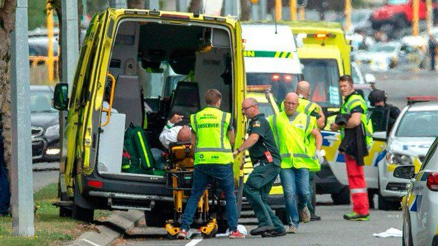 Asesinan a varias personas dentro de una mezquita en Nueva Zelanda