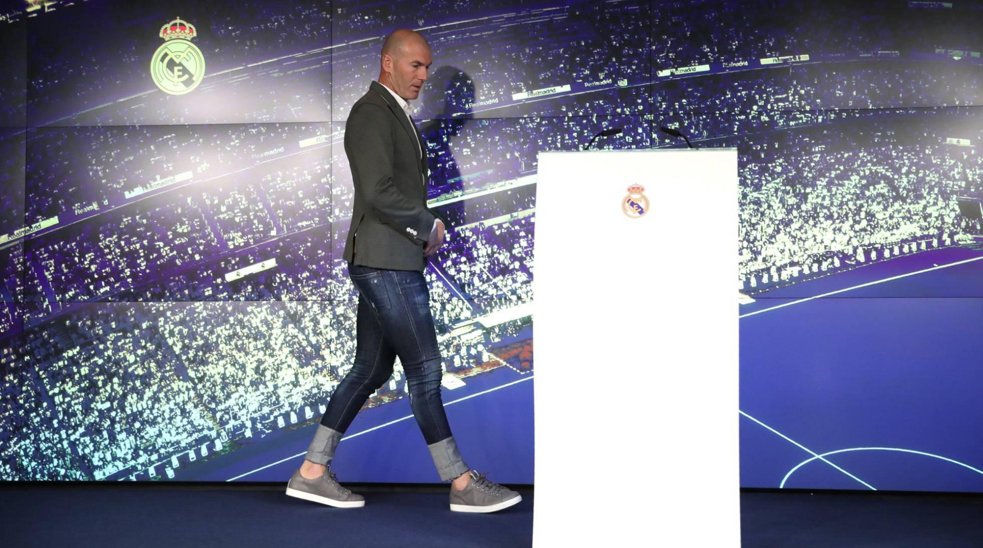 Cuánto cuestan los pantalones de Zinedine Zidane