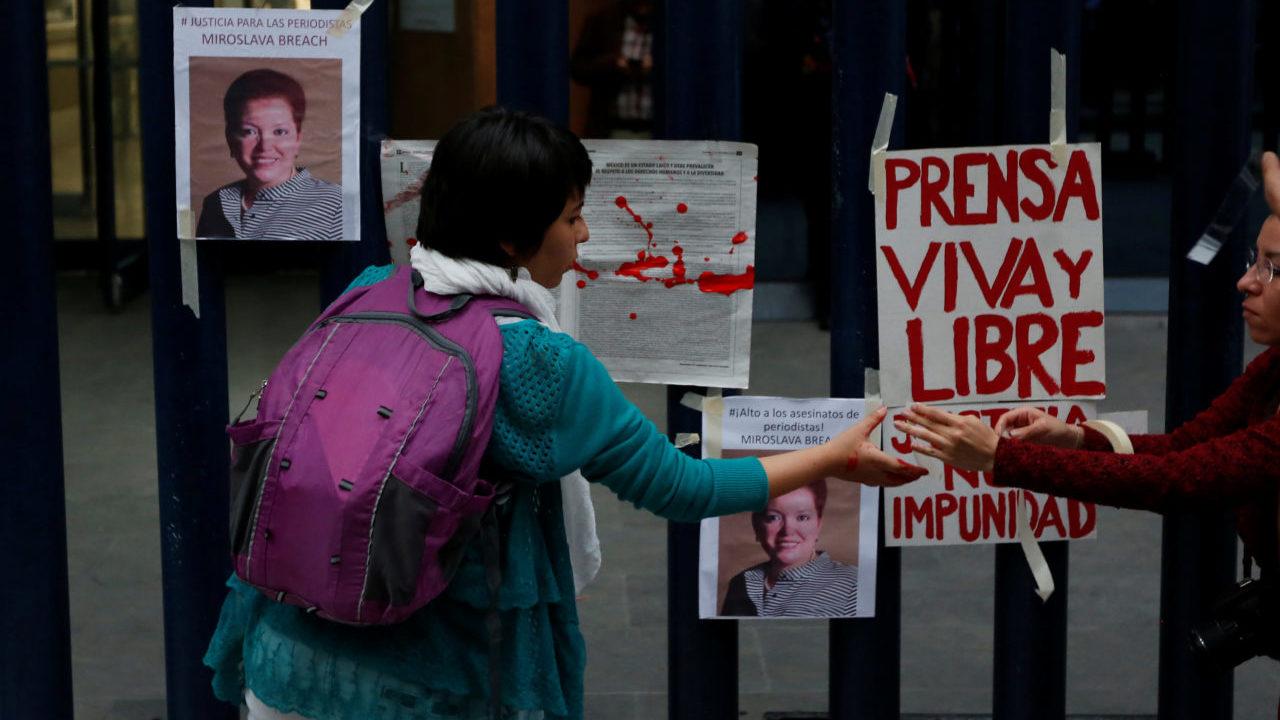 Faltan más arrestos en caso Miroslava Breach: RSF