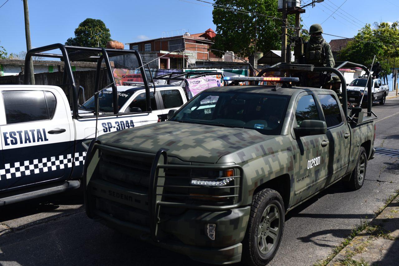 Fuerzas federales despliegan operativo en Veracruz, por ataque en Minatitlán