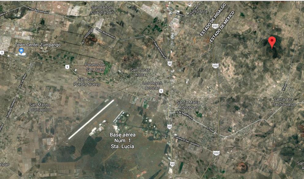 Inicia el lunes construcción del nuevo aeropuerto en Santa Lucía