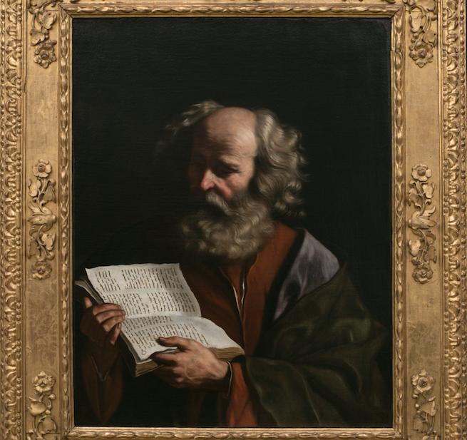 """La genialidad de """"Il Guercino"""": el 'Evangelista' que lee"""
