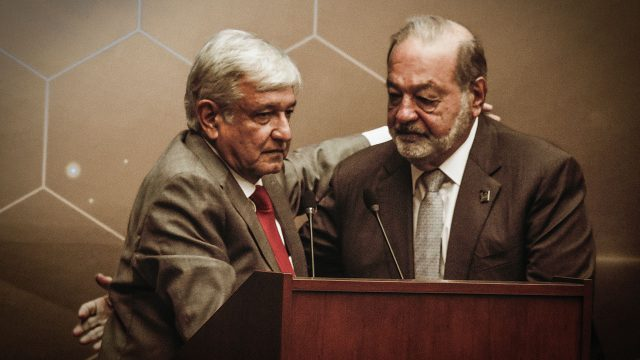 AMLO Carlos Slim