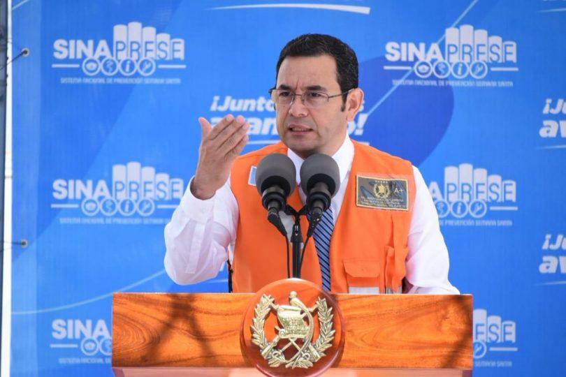 Jimmy Morales cuestiona convenio entre el TSE y la Cicig