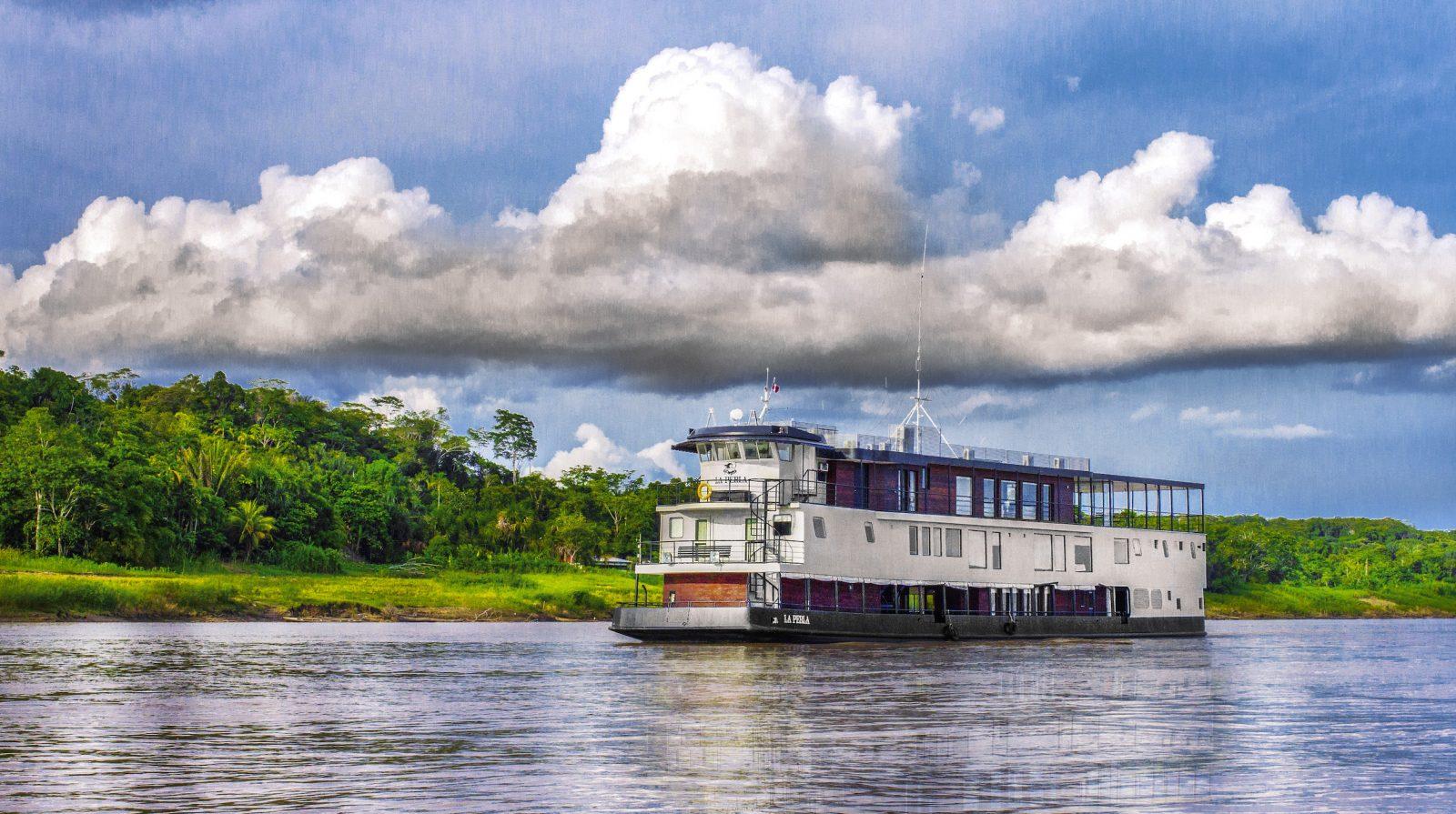 Conquista el Amazonas a bordo de un crucero de lujo