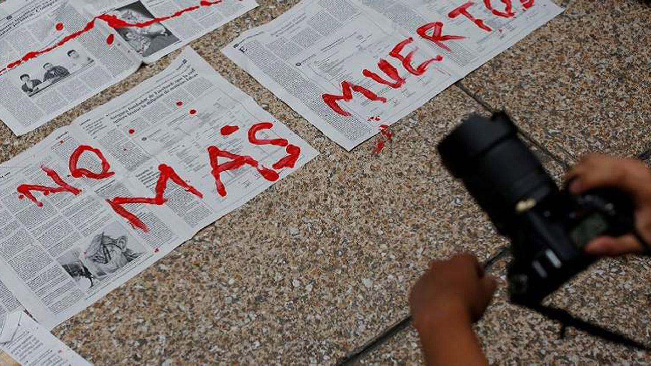México, el más peligroso para los periodistas durante gobierno de Peña
