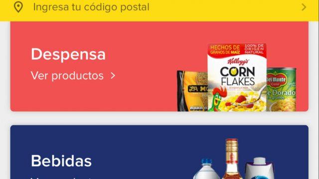 Compras de supermercado en línea presentan crecimiento en México
