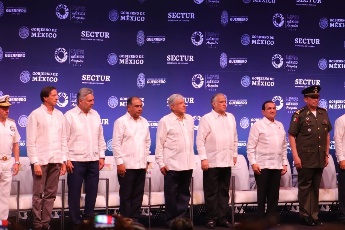 López Obrador inaugura el Tianguis Turístico Acapulco 2019