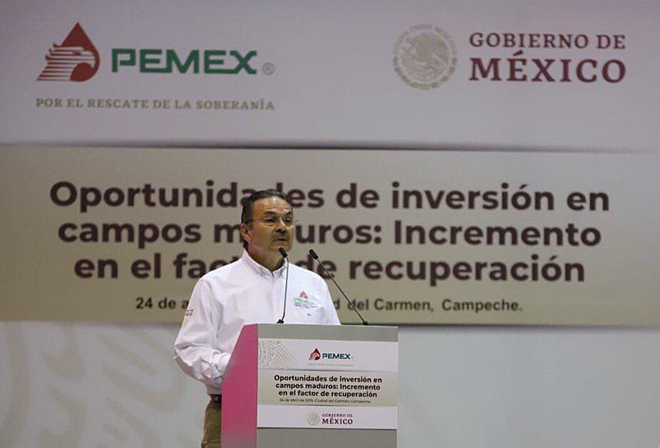 Pemex apostará por campos petroleros maduros