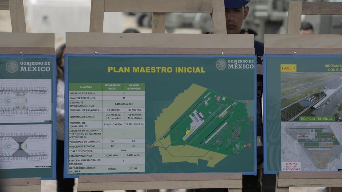 La IP no podrá almacenar turbosina en Santa Lucía: Jiménez Espriú
