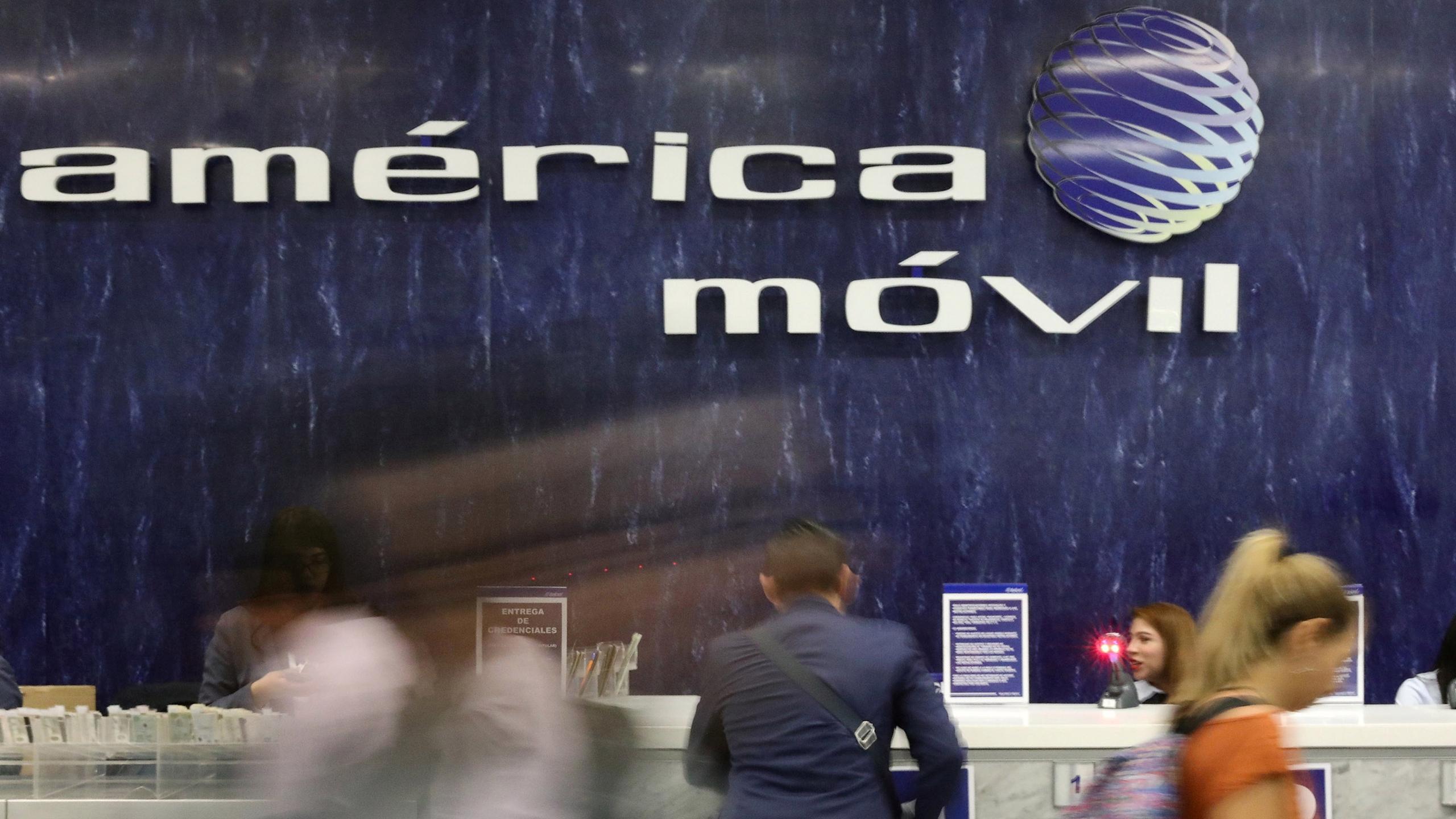 EBITDA de América Móvil sube 2.9% en primer trimestre