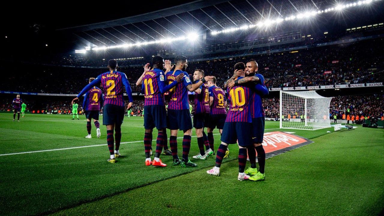 Con gol de Messi, Barcelona sella otro título de La Liga
