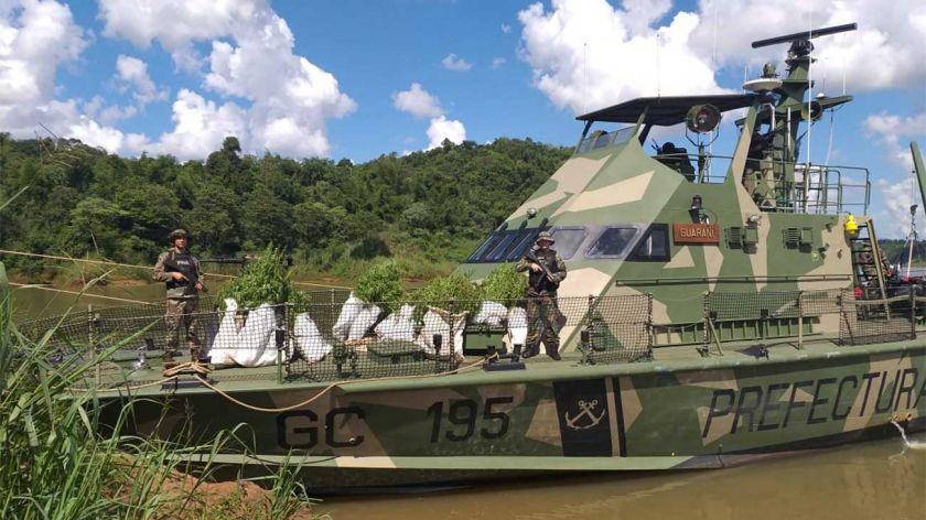 Hallan 'bosque' de mariguana en predio militar argentino de la Triple Frontera