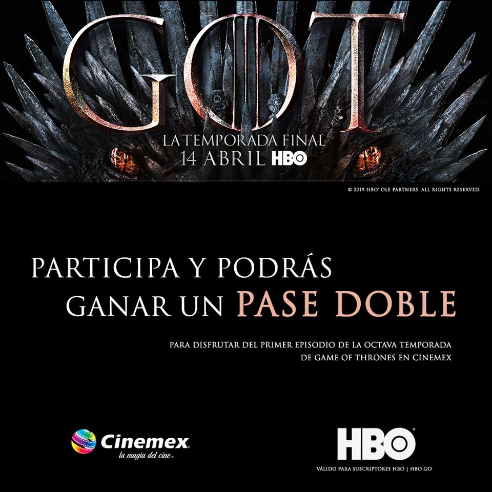 Game of Thrones Cine