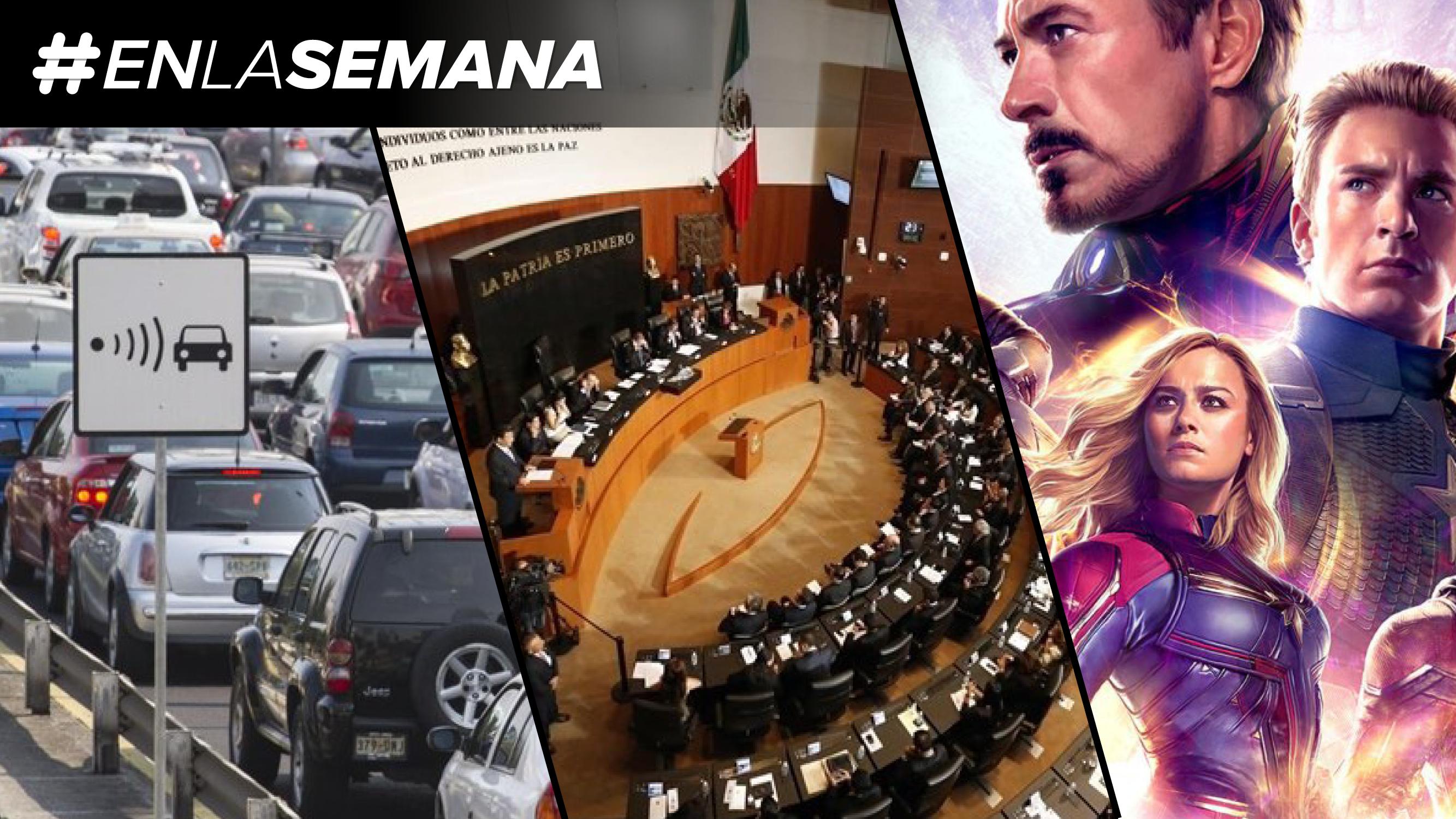 Agenda Forbes | Llegan las fotocívicas; la reforma laboral sigue su paso, y 'Avengers: Endgame' va por taquilla millonaria