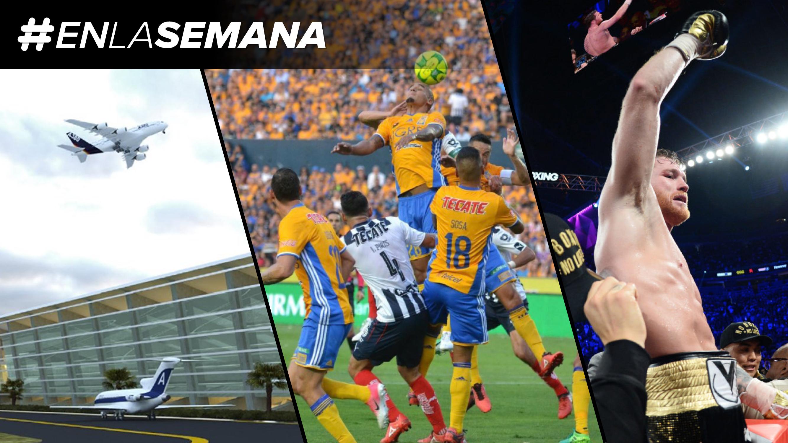 Agenda Forbes | Inician los trabajos de Santa Lucía, 'Canelo' Álvarez regresa al ring y llega la última jornada de la Liga MX