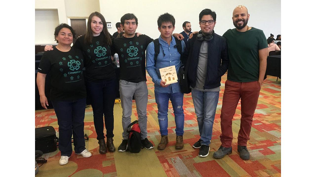Alumnos de Cinvestav ganan concurso de vehículos autónomos