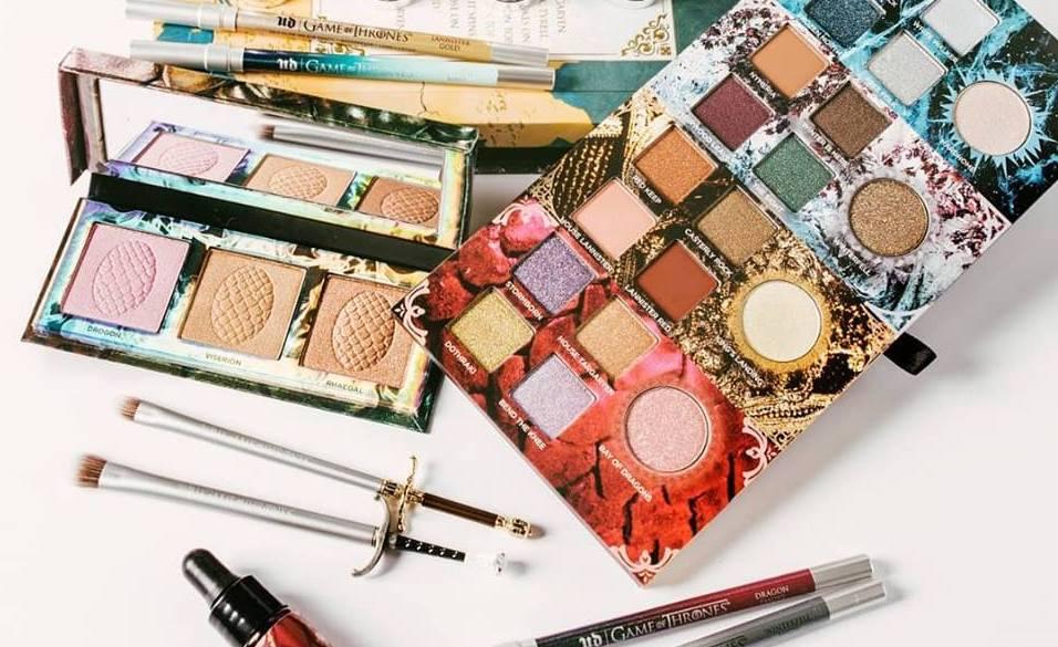 Sólo para fans: crean colección de maquillaje inspirada en Game of Thrones