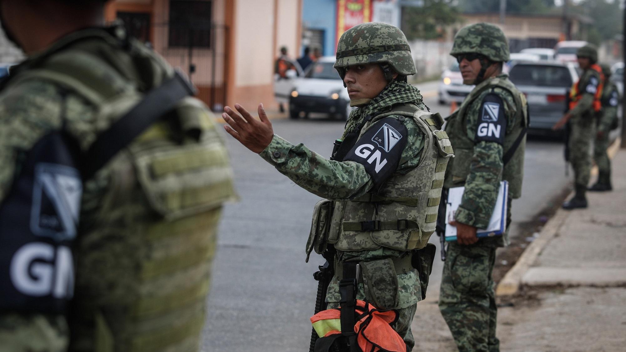 Guardia Nacional se estrena en Minatitlán, a una semana de la masacre