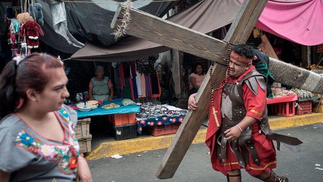 Pasion Cristo Iztapalapa