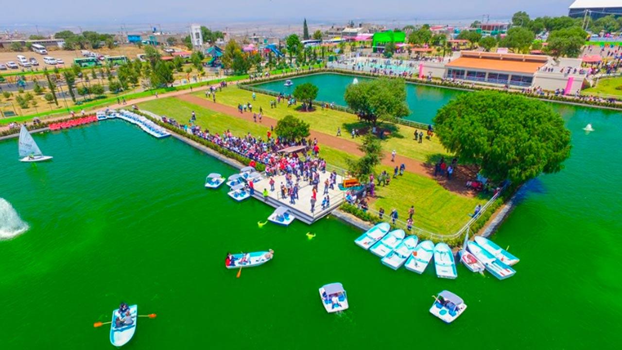 Municipio de Chimalhuacán estrena lago artificial de 55 mdp