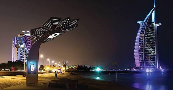 Te presentamos las palmeras 'inteligentes' de Dubai