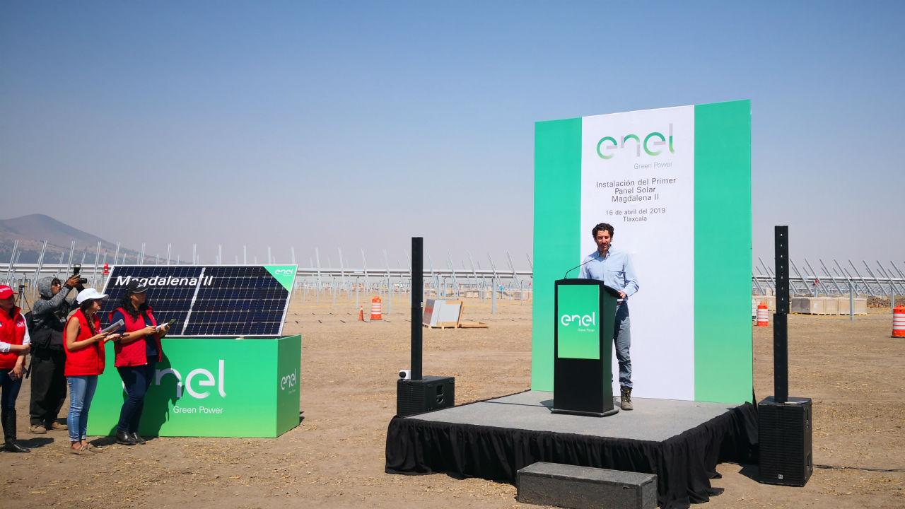 México sigue siendo interesante para invertir en energías renovables: Enel