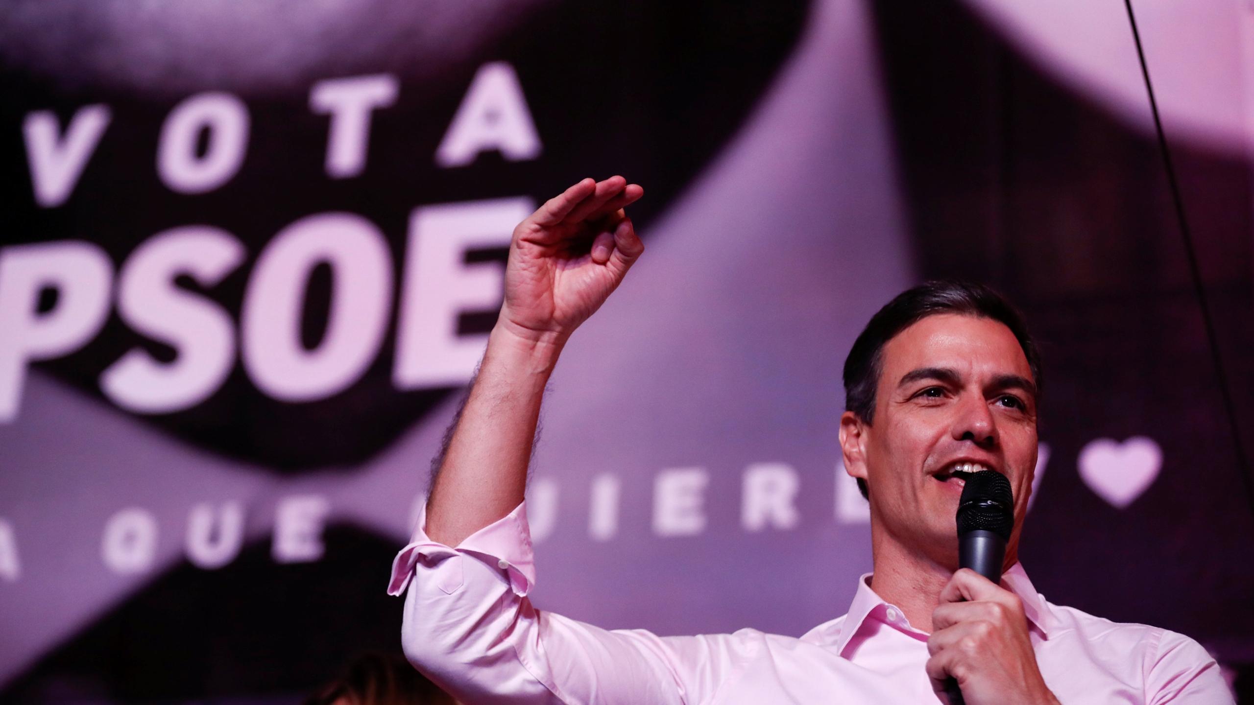 Tras triunfo electoral, PSOE intentará gobernar España sin alianzas